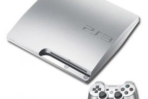PlayStation 3 Slim. Теперь в серебре